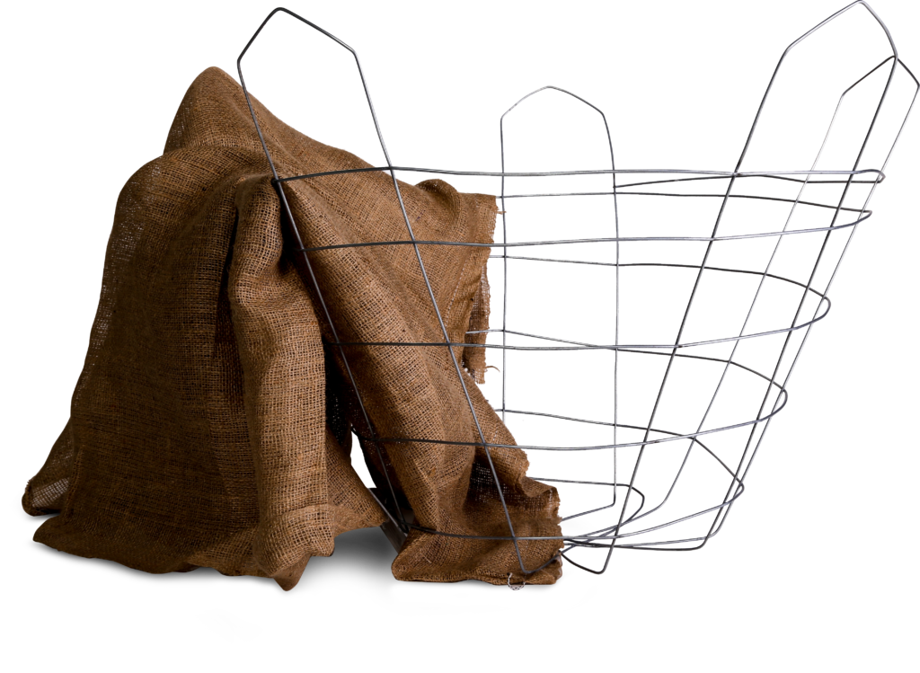 settlers wire tree basket