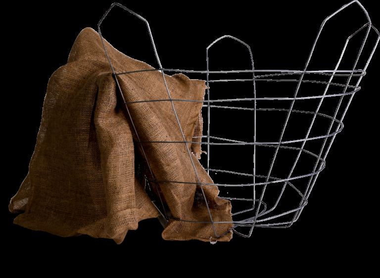 settlers wire tree basket